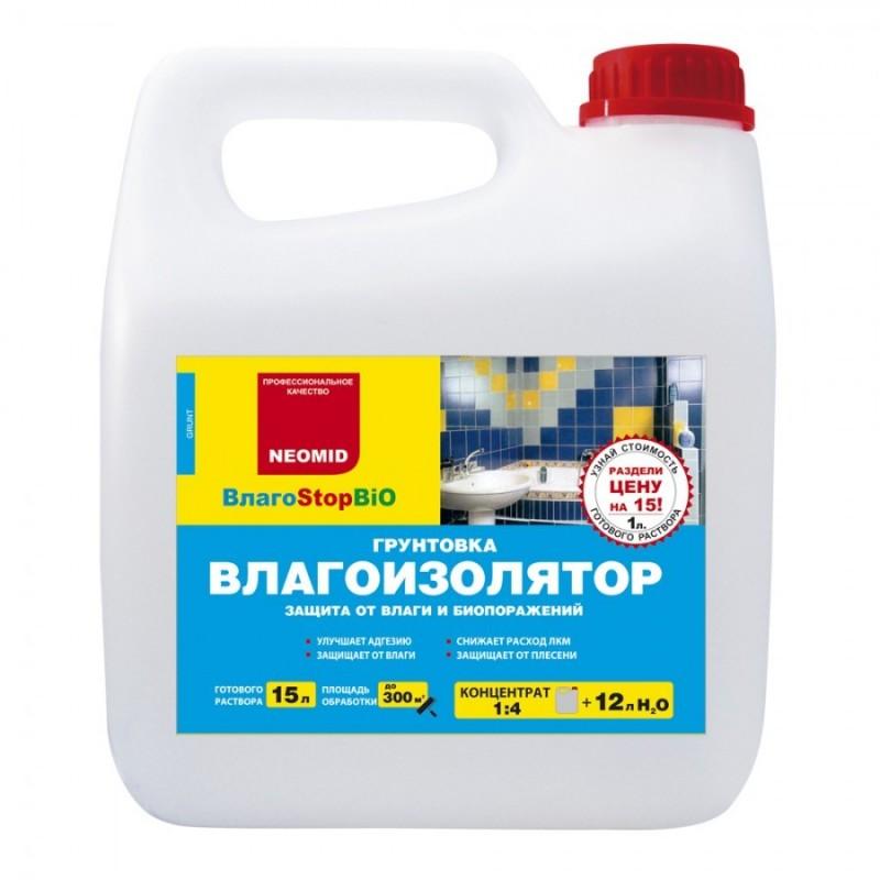 Неомид влагоStop 1л грунт-влагоизолятор