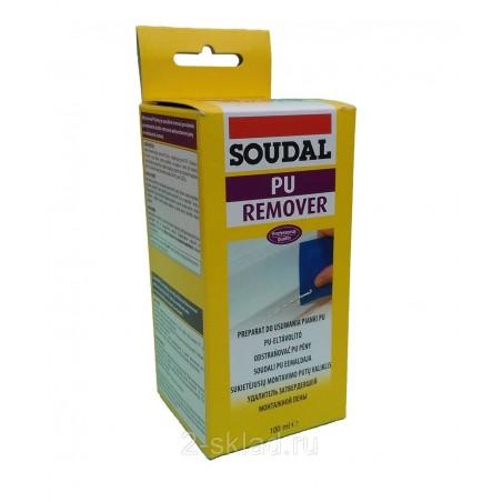 Удалитель затвердевшей монтажной пены Soudal Pu remover 100мл