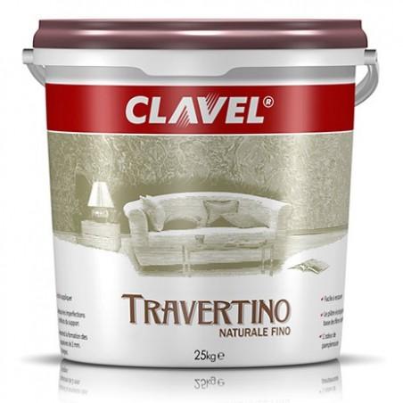 Travertino Naturale Fino / Травертино Натурале Фино  известковая штукатурка с эффектом полированного травертина
