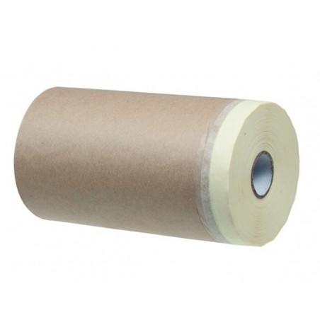 Бумага защитная с клейкой лентой