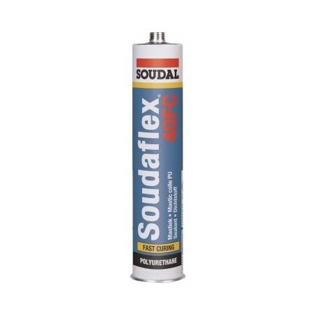 Клей-герметик полиуретановый белый Soudsl 40FS