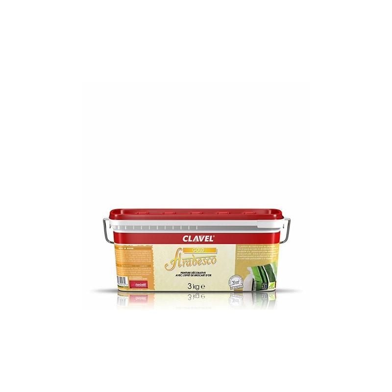 Arabesco Gold  эффект гладкого переливчатого мокрого шелка