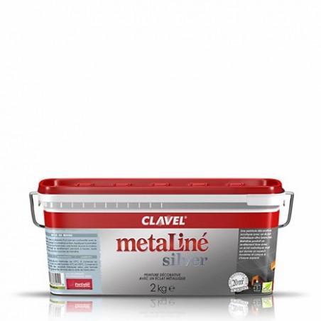 Metaline Silver / Металине Сильвер краска с металлизированным эффектом