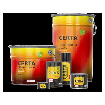 Термостойкая эмаль CERTA