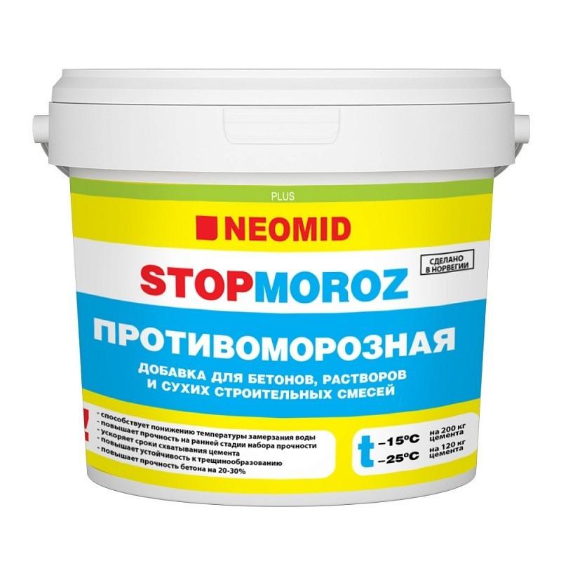 Противоморозная добавка для бетона и растворов Neomid