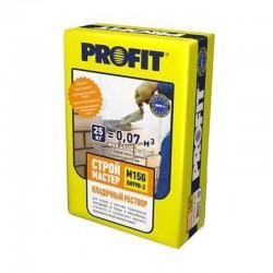 Profit СтройМастер - лучшие кладочные растворы в МастерКрас.